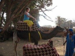 Me on a camel!!
