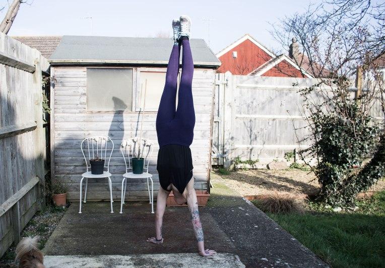 handstand-walking