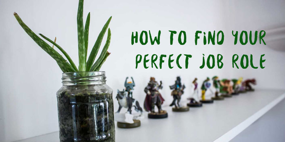 How to find your Perfect Job Role