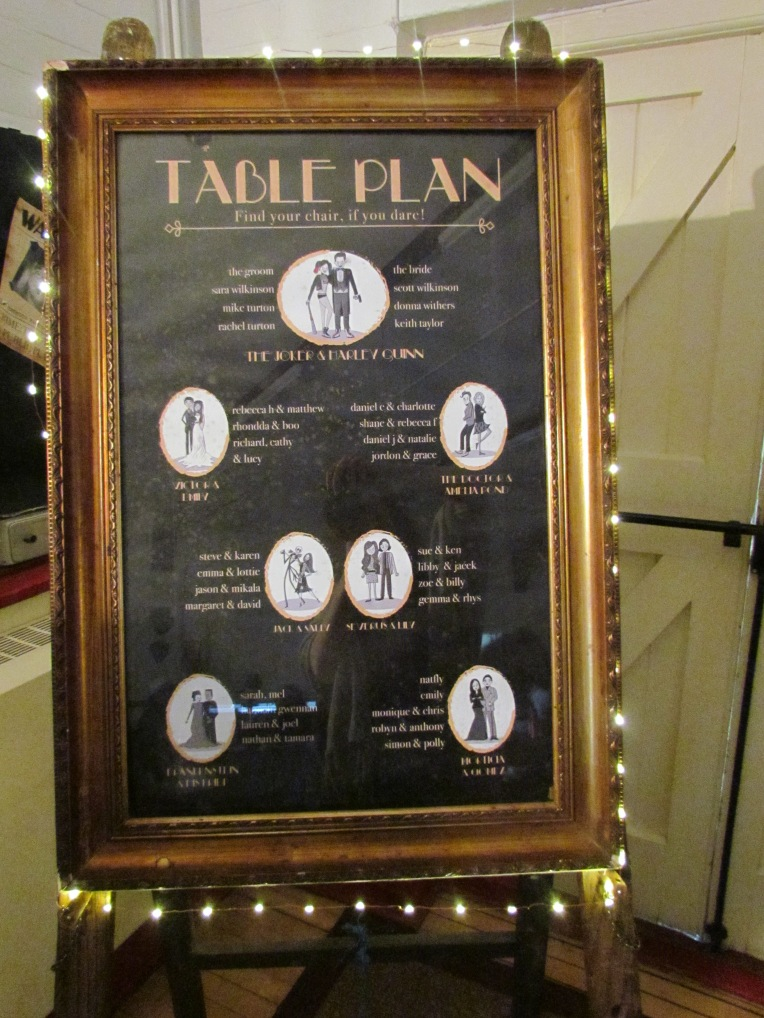 melk table plan